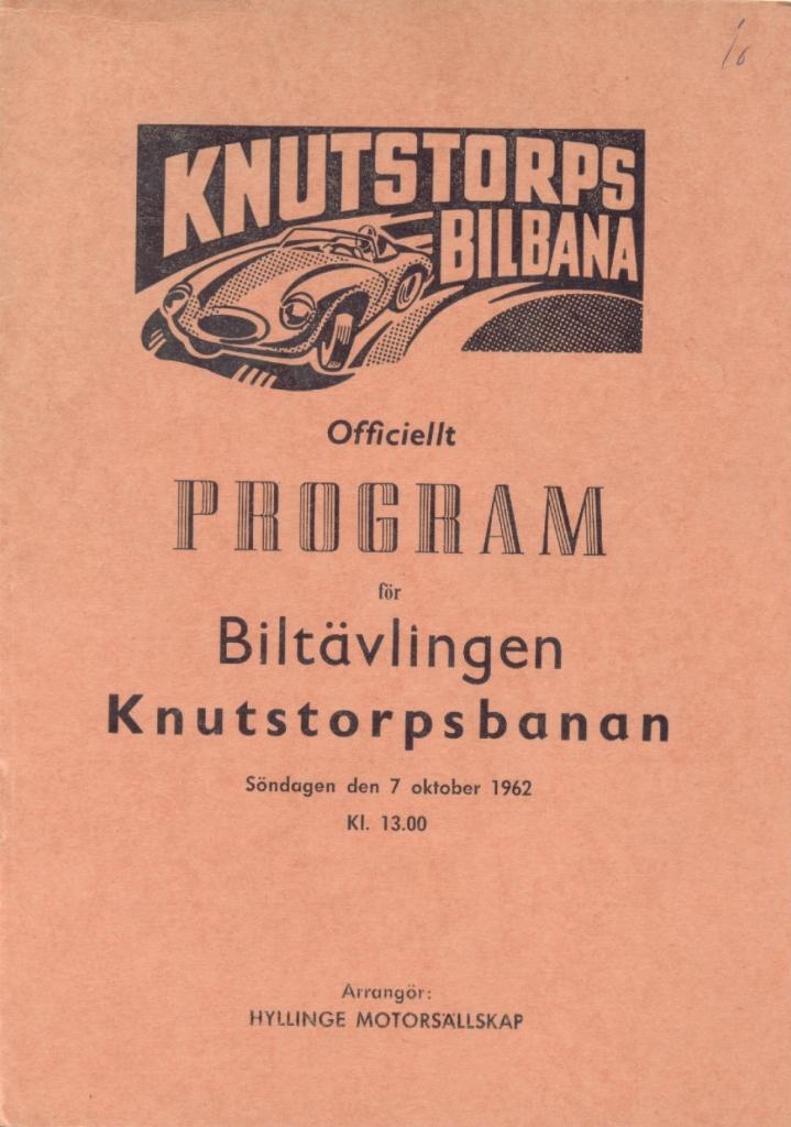 Programomslag 1962-10-07